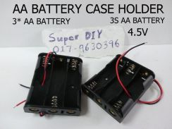 AA Battery case holder 1.5V 3S 4.5V Spring
