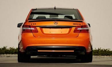 Mercedes W212 AMG Boot Spoiler Trunk Spoiler