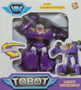 Tobot Transformation Transformer Robot Car Purple