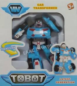 Tobot Transformation Transformer Robot Car Blue