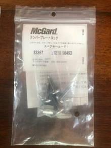 Original McGard frame plate bolt/screw new