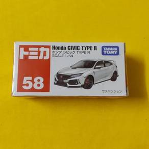 EEQ tomica Honda Civic Type R not hotwheels