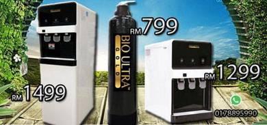 Water Filter Penapis Air Bio ULTRA cooler PAKEJ 1D