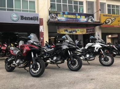 New Benelli TRK502 TRK 502 LE ABS Ready Stock