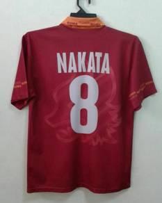 Rare jersey tribute to NAKATA 8 AS ROMA
