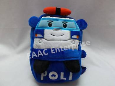 Robocar Poli Kid Backpack Kindergarten School Bag