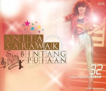 CD ANITA SARAWAK Siri Bintang Pujaan 2CD