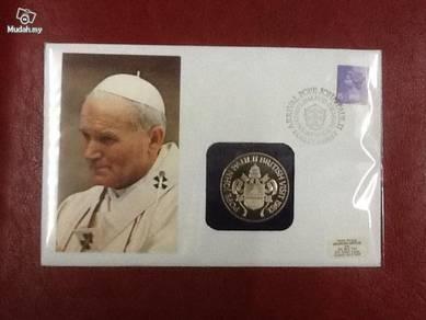 Pope John Paul II FDC