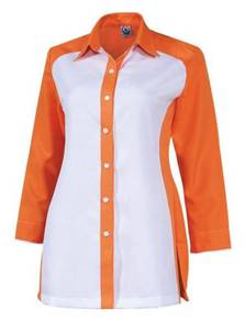 Baju Korporat F1 Long Sleeve FF6142 Orange