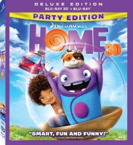 Blu-ray English Anime Home 3D(2 Disc Party)