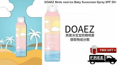 DOAEZ Birds Nest Sunscreen Spray SPF 50+Free Gift
