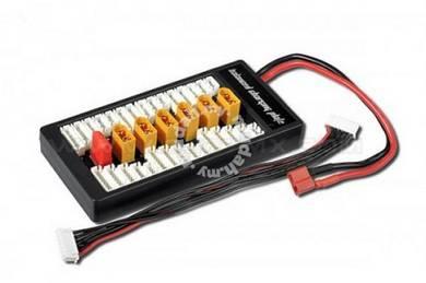 2-6S LiPo XT60-Plug Parallel Balanced Charging