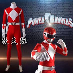 Power rangers Jason Red Ranger cosplay suit