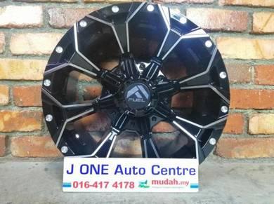 Fuel wheels t120 16inc navara xterra