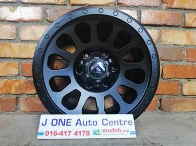Fuel wheels d812 16inc ford ranger dmax triton