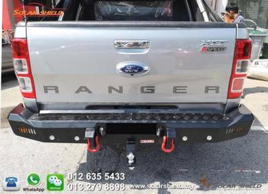 Ford Ranger T6 T7 Rear Bull Bar 4X4 Rear Bumper
