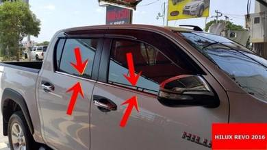 Toyota Hilux Vigo Revo Innova chrome window trim