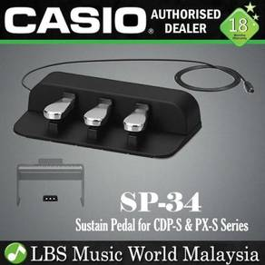 Casio SP-34 3-Pedal Board Sustain Unit For PX-S