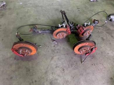 Honda civic fd2 2.0 disc brakes set