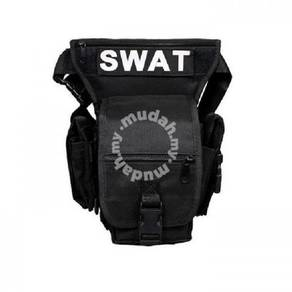 New SWAT Multi-Function Tactical Leg Bag Outdoor B