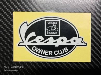 Stiker Vespa Owner Club