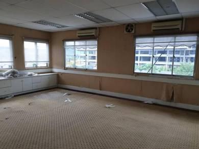 Cheras Perdana Bandar Tun Hussein Onn Office facing main road near MRT