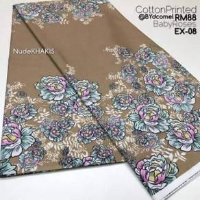 Kain Cotton Bunga Baby Roses EX-08