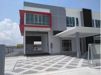 Prai - Central I - New Semi-D factory - bu 6500 sqft - land 10000 sqft