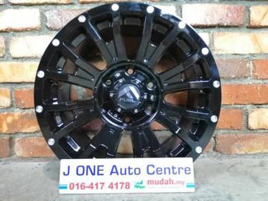 Fuel wheels d811 16inc triton ford ranger hilux