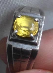 Cincin Batu Permata zamrud Sapphire Gemstone gems