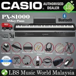 Casio PX-S1000 88 Keys Digital Piano Black Package