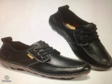 Cat Leather Shoes Cowhide Leather Shoes