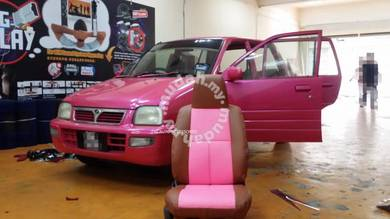 Kancil 660/850 semi leather seat cover