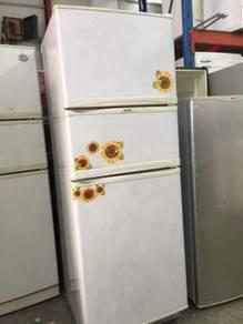 Elba 3 doors fridge Peti Sejuk Ais Refrigerator
