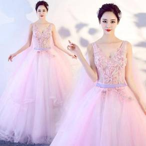 Pink prom wedding bridal gown dress RB0446