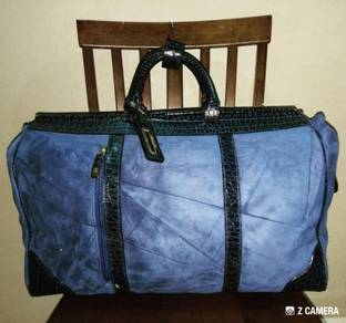 Traveller Bag Mix- Leather RS by Grand ACE (Blue)