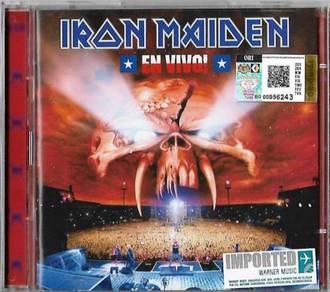 IMPORTED CD IRON MAIDEN En Vivo 2CD