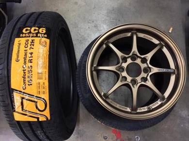 Sport Rim Rays Ce28 Auto Option Thai siap Tyr 14