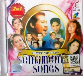 Best Of Pop Sentiment Songs 2In1 VCD