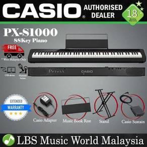 Casio PX-S1000 88 Keys Digital Piano Black Basic
