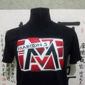 Maroon 5 tshirt band