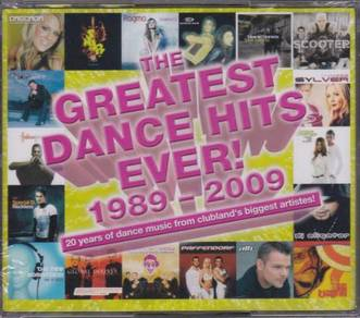 IMPORTED CD The Greatest Dance Hits Ever1989-2009