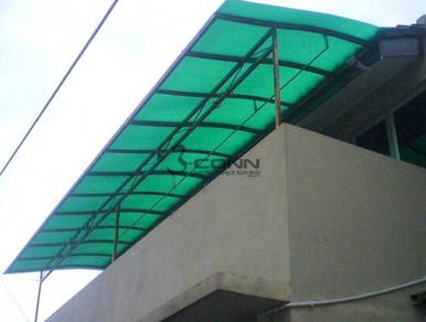 Roofing Skylight Awning with Polycarbonate Sheet