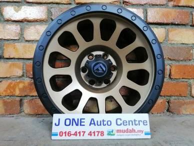 Fuel wheels t812 16inc ford ranger triton dmax