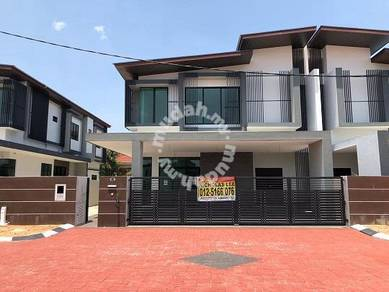Double Storey SEMID House at Taman Chateau