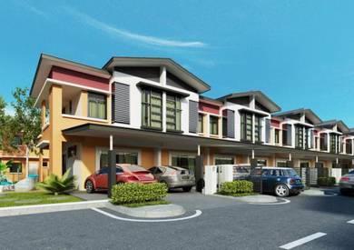 Taman Vila Akasia Double Storey Terrace House at Tuaran