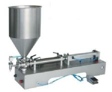 Liquid and Paste Piston Pump Filler