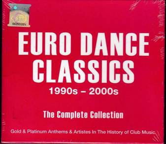 IMPORTED CD Euro Dance Classics 1990s~2000s
