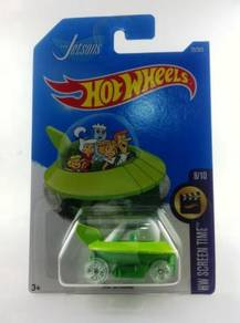 Hotwheels 2017 HW Screen Time The Jetsons #8 Green