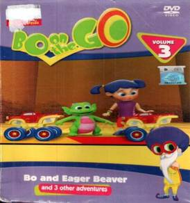DVD ANIME Bo On The Go Bo And Eager Beaver Vol.3